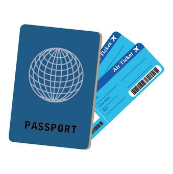 護照和機票