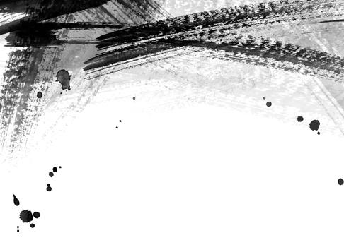 墨水描邊背景 8 重疊畫筆