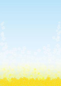 強奸的花朵,背景,A4垂直,腳