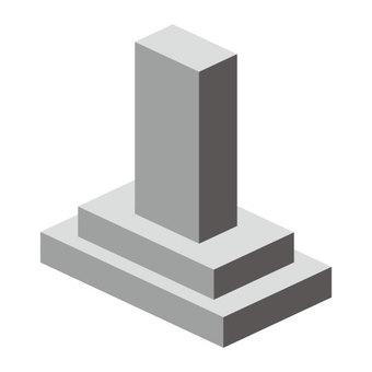 墓(沒有電線)