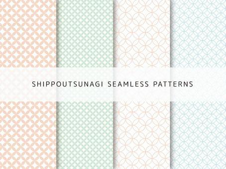 Chestnut Tsunagi pattern set
