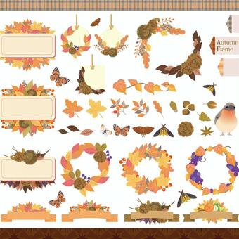 Autumn frame set 02