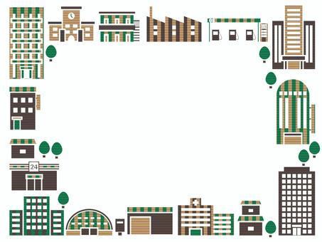 城市景觀框架