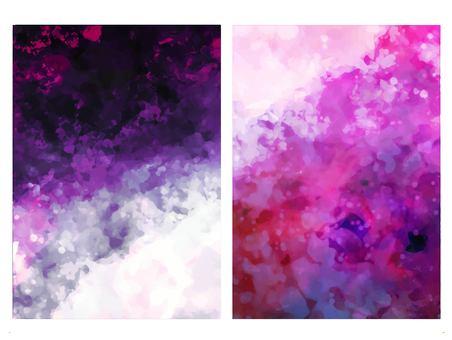 紫色夢幻般的紋理背景集