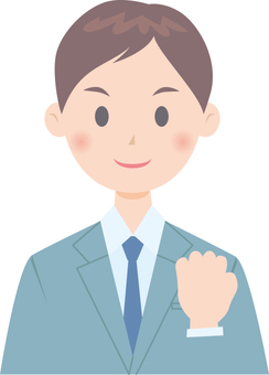 Employee (Guts pose)
