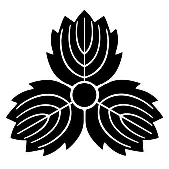柏紋 귀신 세 카시와 일본의 가문