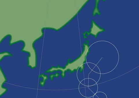 颱風預測路線圖
