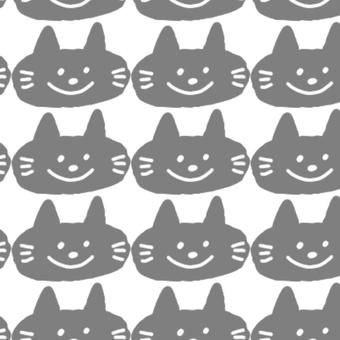 手繪黑貓圖案