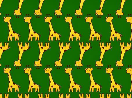 ai長頸鹿圖案與色板