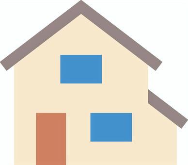 Simple detached house