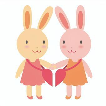 Rabbit friend image