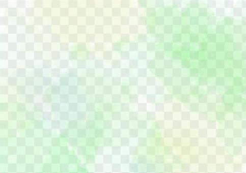 Watercolor wind background yellow and green