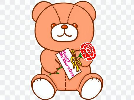 泰迪熊*母親節