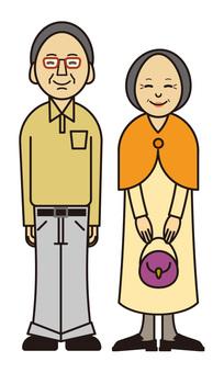 老年家庭夫婦 | 老年夫婦