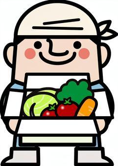 仙女叔叔蔬菜配送