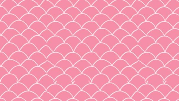 背景粉紅色鱗片鱗片圖案