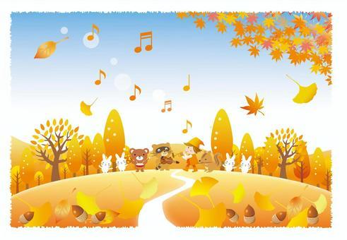Late Autumn Animals Concert