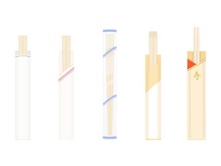 色々な割り箸