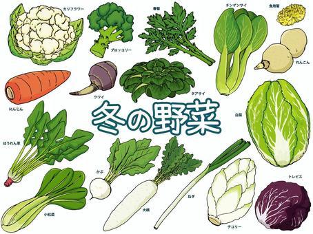 冬季蔬菜/溫暖