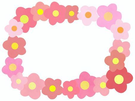 花圈框架/粉色