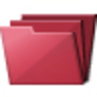 Folder icon (red)