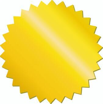 免費的插圖免費材料黃金黃金標籤