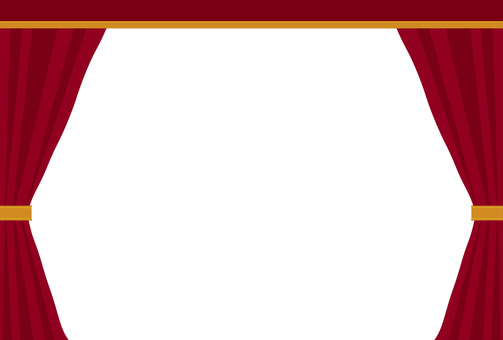 Simple stage curtain
