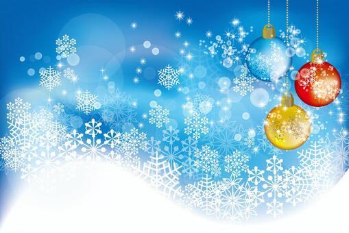 Snow Crystal Ornamental Ball 9