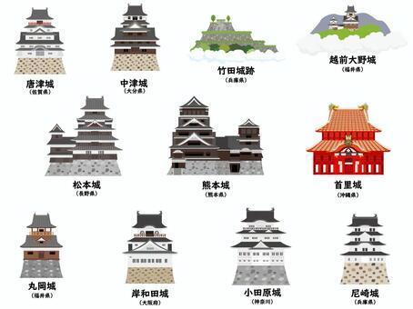 日本の城コレクション2