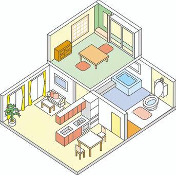 2层室内2