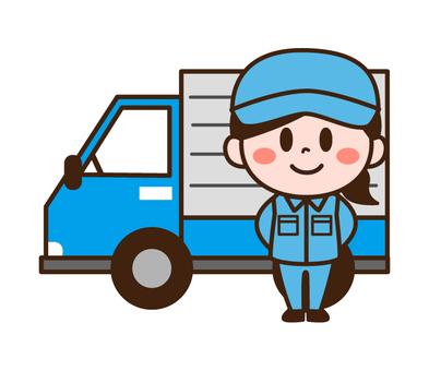 卡車的女司機