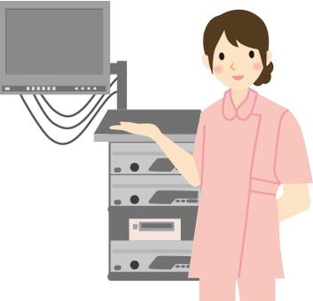 護士和醫療設備